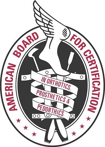 American Board for Certification in Orthotics, Prosthetics & Pedorthics Logo